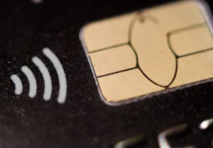 a payment card chip to represent emv payment tokenization