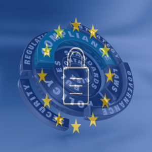 symbol of GDPR to symbolize PCI DSS and NIST Regulations: How to Prepare for the GDPR