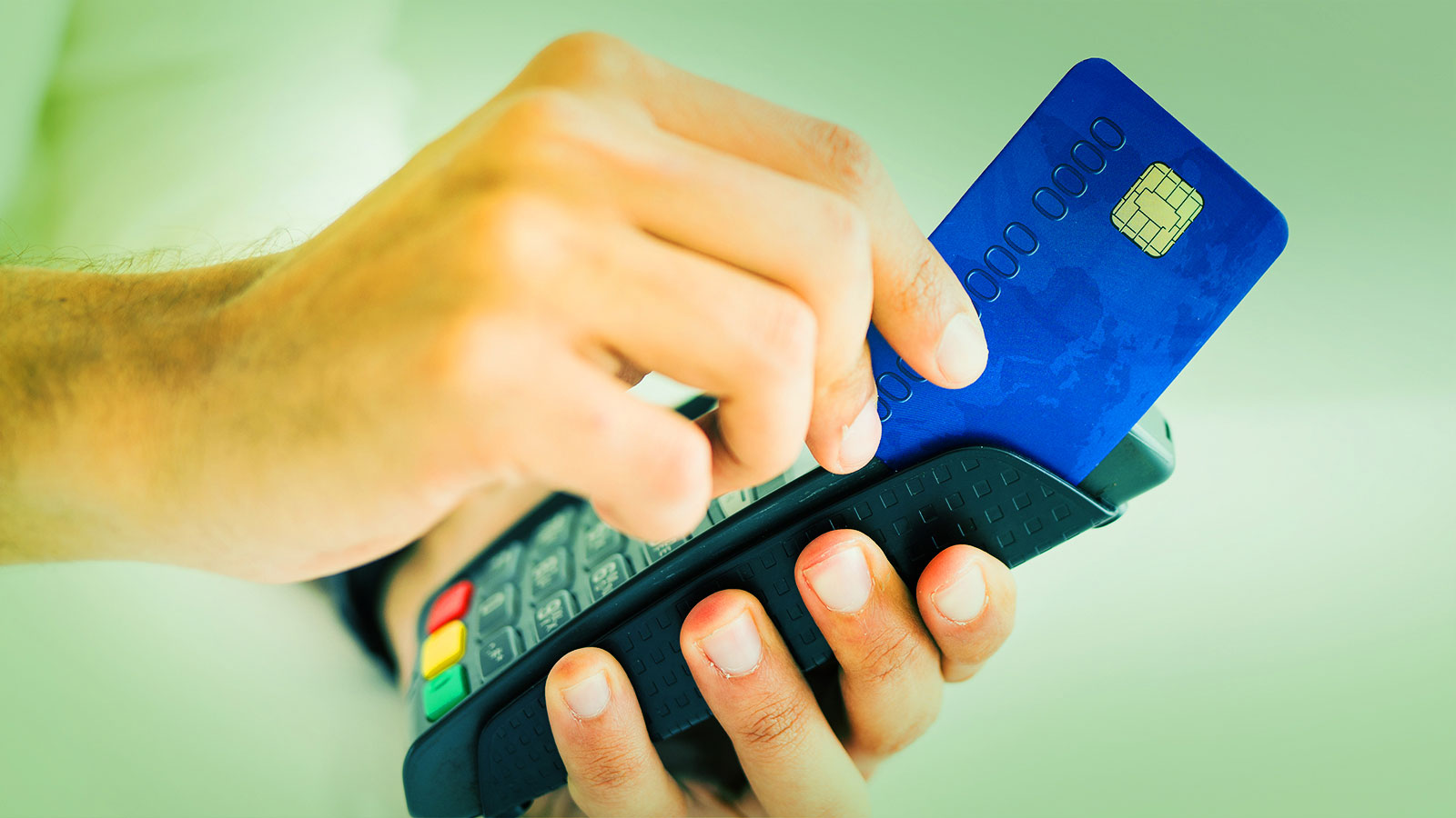 Card swipe for credit card tokenization